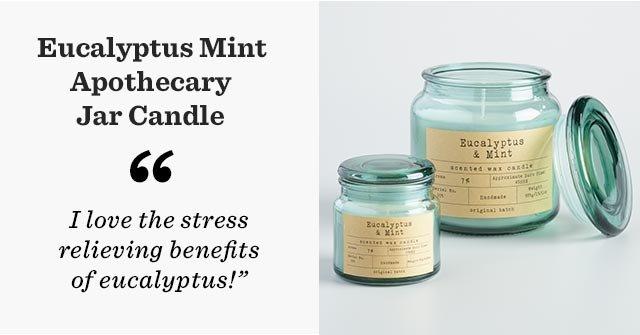 Eucalyptus Mint Apothecary Jar Candle