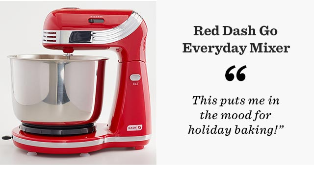 Red Dash Go Everyday Mixer