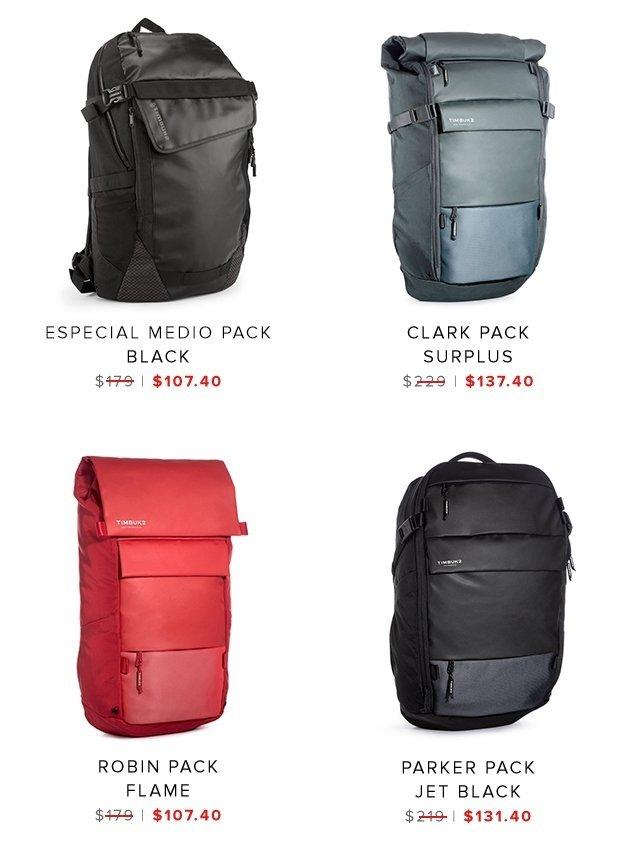 Especial Medio | Clark Pack | Robin Pack | Parker Pack | Shop Sale