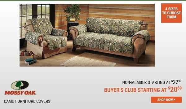 Mossy Oak Camo Furniture Covers