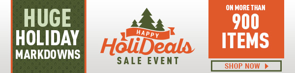 Happy HoliDeals Sale Event
