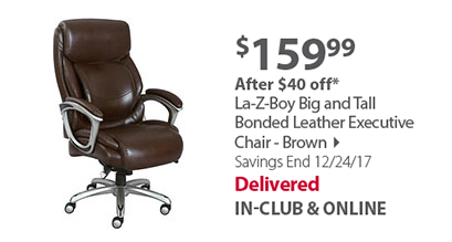 Executive chair brown
