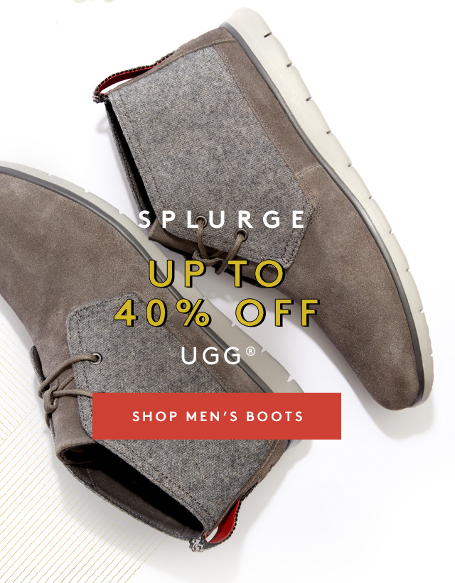 Splurge | Up to 40% Off | UGG | Shop Men's Boots