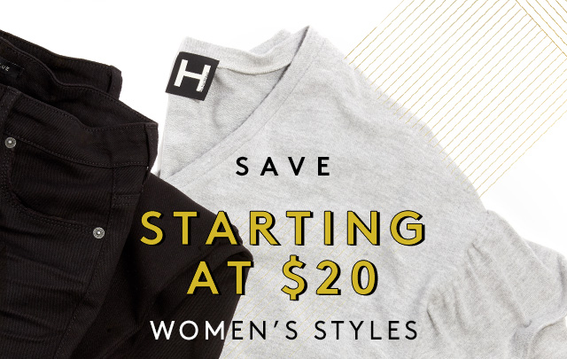 Save | Starting at $20 | Women's Styles | Shop Sweaters