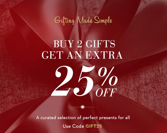 Buy 2 Gifts & Get Extra 25% Off