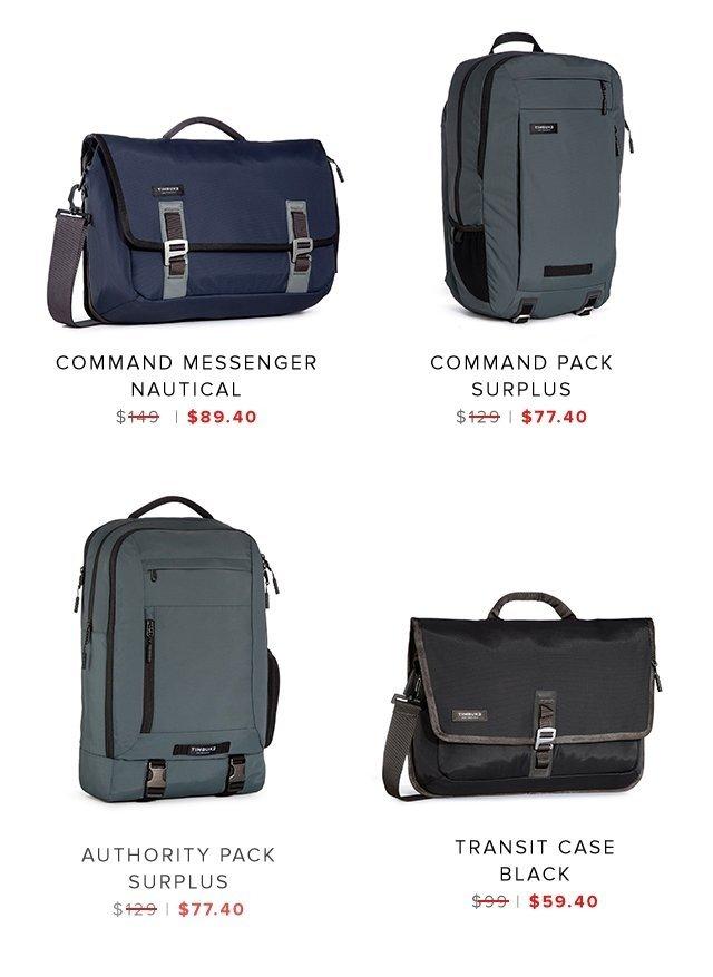 Command Messenger | Command Pack | Authority Pack | Transit Case | Shop Sale