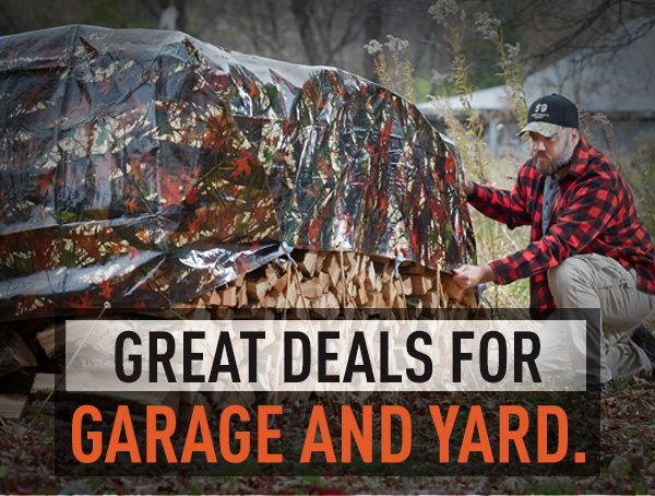 Great Deals For Garage and Yard