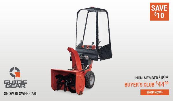 Guide Gear Snow Blower Cab