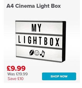 A4 Cinema Light Box