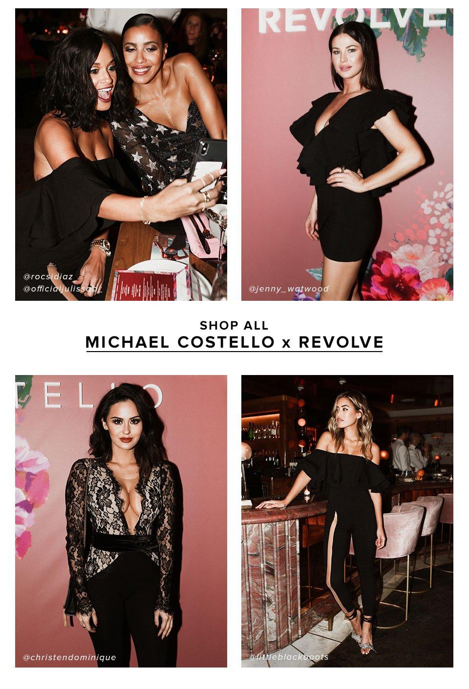 Shop all Michael Costello x REVOLVE