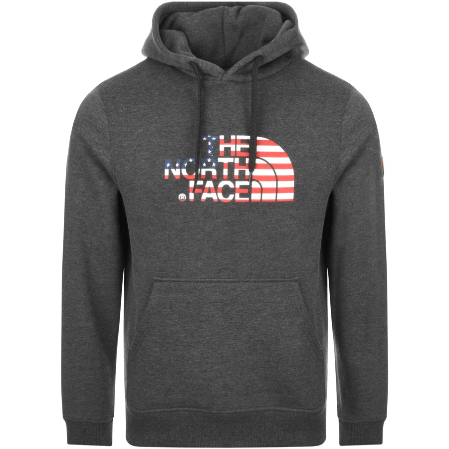 The North Face International USA Hoodie Grey