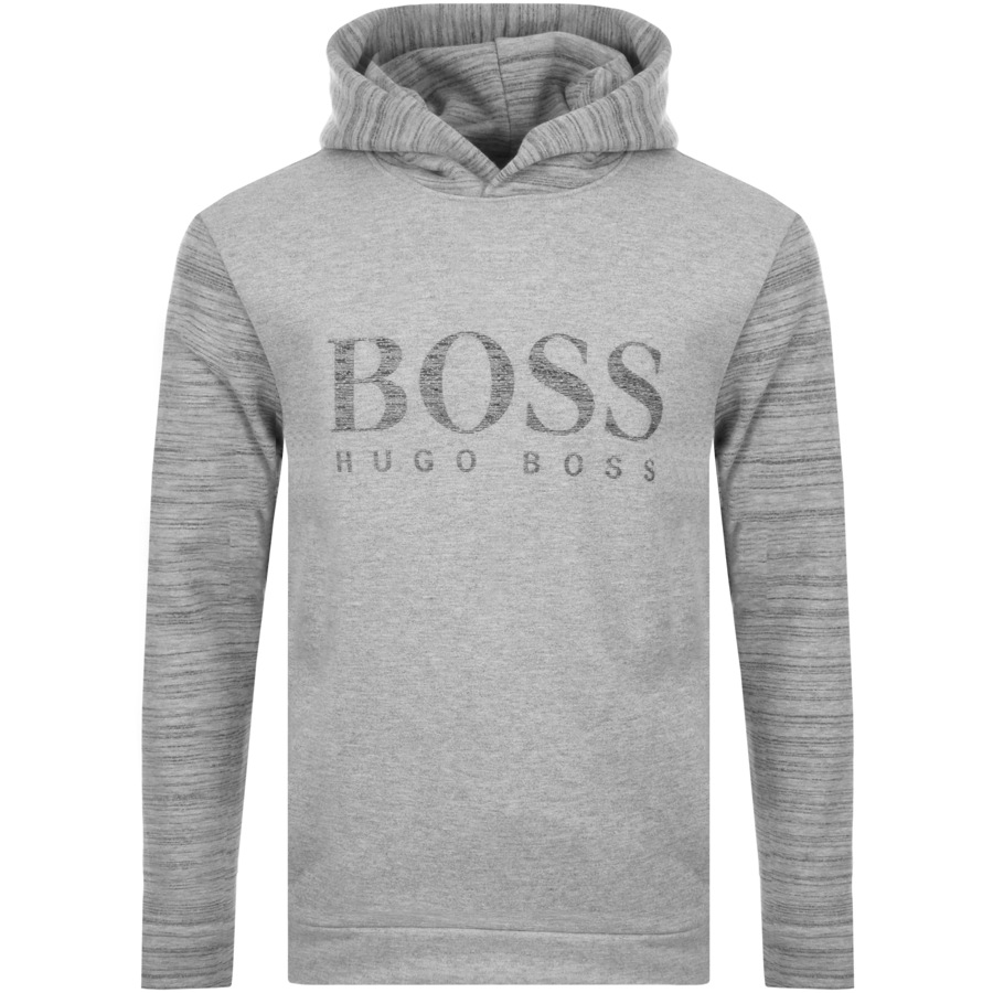 BOSS Green Soody Jumper Grey