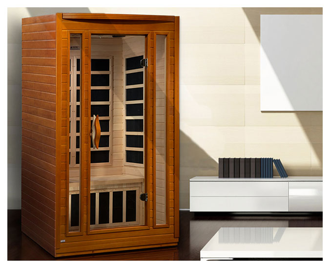 Finest dynamic san marino person far infrared sauna with - Costo sauna per casa ...