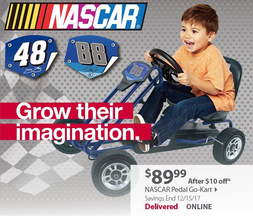 NASCAR Pedal Go-Kart