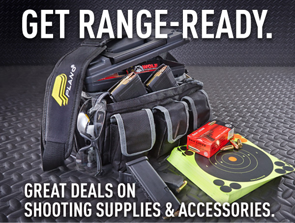 Get Range-Ready. Great Deals On Shooting Supplies & Accessories