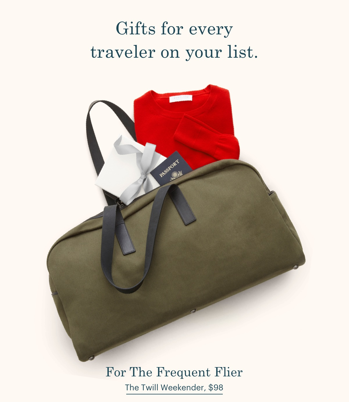 Gifts for every traveler on your list. For The Frequent Flier