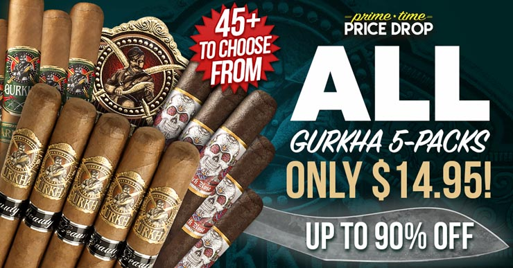 All Gurkha 5-Packs Only $14.95! - Up To 90% Off - 45+ To Choose From