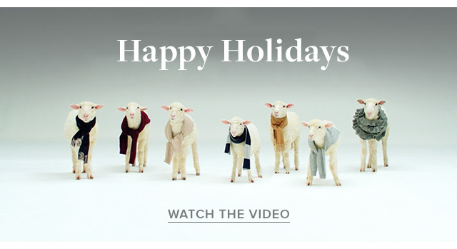 HAPPY HOLIDAYS | WATCH THE VIDEO