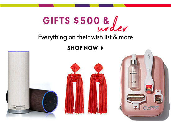 Gifts $500 and Under