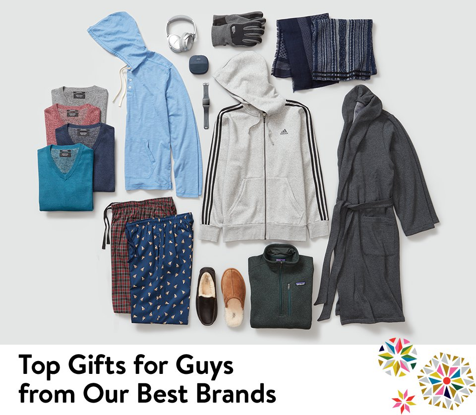 Top gifts for guys from our best brands.