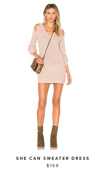 Shop the She Can Sweater Dress