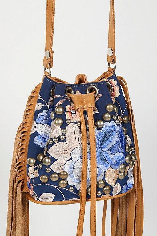 Alamo Rose Bucket Bag