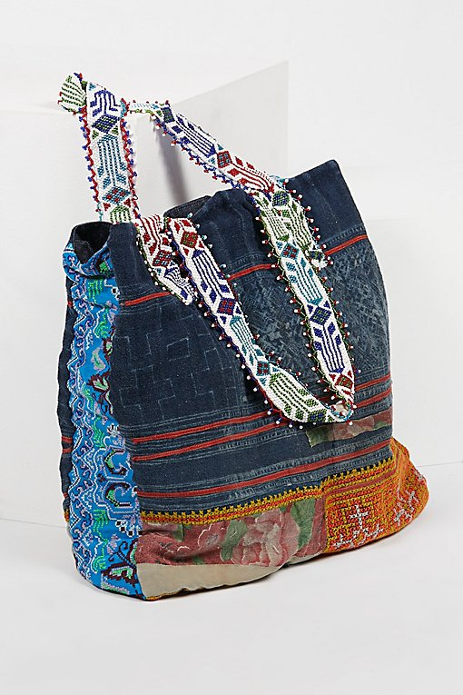 Technicolor Embellished Tote