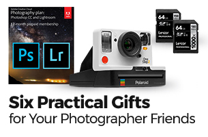 Six Practical Gifts to Give Your Photographer Friends