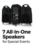 7 All-In-One Portable Speaker Systems for Special Events and Parties