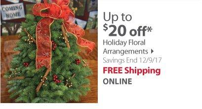 Holiday arragements