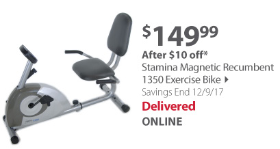 Stamina Exercise Bike