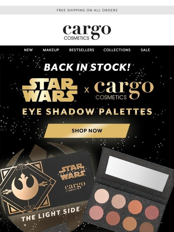 Cargo Back In Stock Star Wars X Cargo Palettes Milled