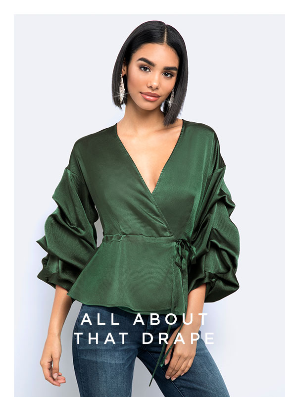 All About That Drape