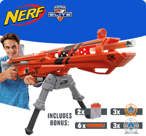 NERF N-Strike Elite AccuStrike RaptorStrike Value Pack