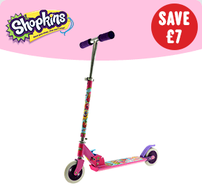 Shopkins Folding Inline Scooter