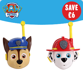 Paw Patrol 3D Character Walkie Talkies