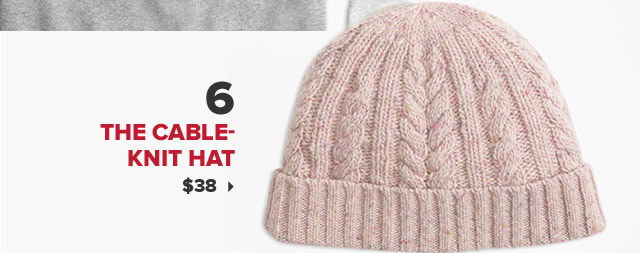 6. THE CABLE-KNIT HAT | $38