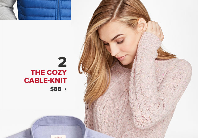 2. THE COZY CABLE-KNIT | $88