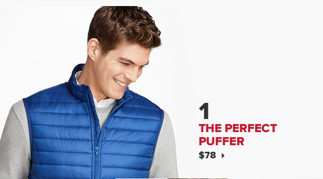 1. THE PERFECT PUFFER | $78