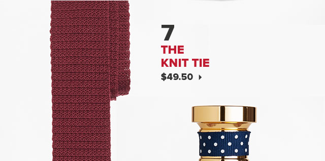 7. THE KNIT TIE | $49.50