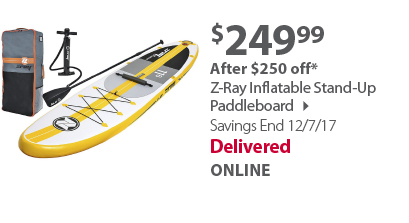 Z-Ray Stand Up Inflatable Paddle Board