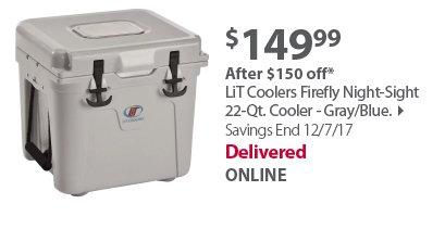 Lit 25 Qt Cooler