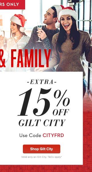 Extra 15% Off Gilt City