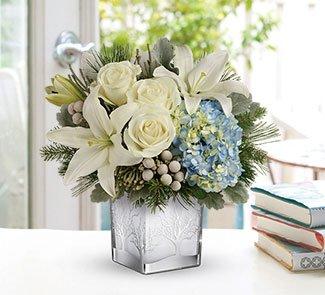 Telefloras Silver Snow Bouquet