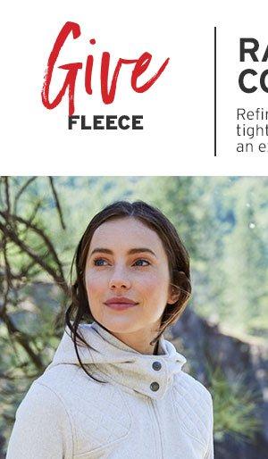 GIVE FLEECE | SHOP WOMEN'S FLEECE