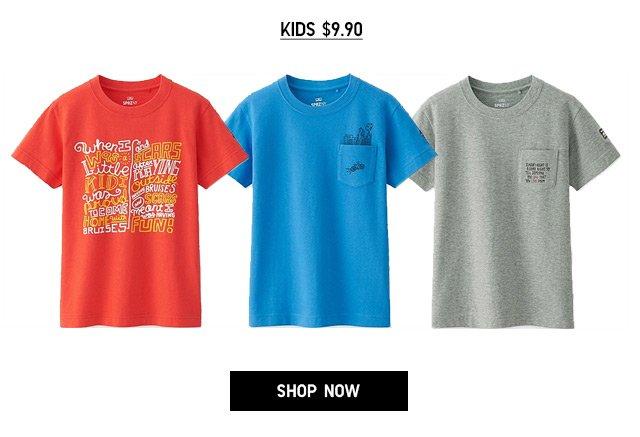 Online + Select Stores - TIMOTHY GOODMAN - Kids $9.90