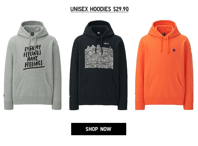 Online + Select Stores - TIMOTHY GOODMAN - Unisex Hoodies $29.90