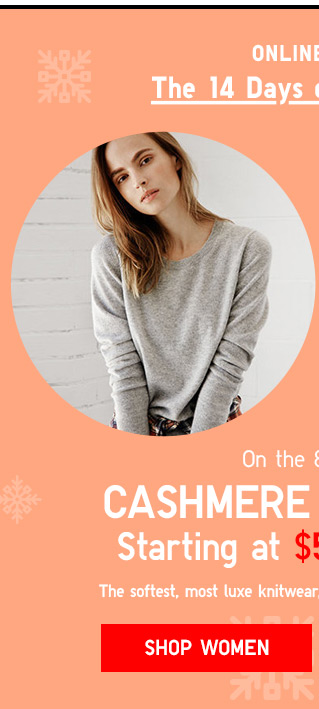 TODAY ONLY! Cashmere Sweaters Starting at $59.90 - Shop Now