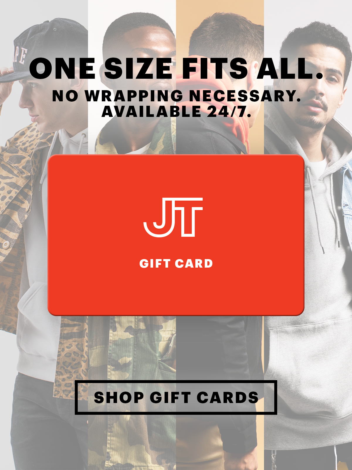 Gift Cards! Always The Perfect Size