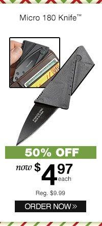 Micro 180 Knife?